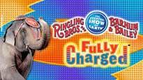 Ringling Bros. and Barnum & Bailey: Fully Charged discount code for show in Auburn Hills, MI (The Palace of Auburn Hills)