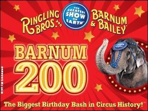 Ringling Bros. and Barnum & Bailey: Barnum 200 Tickets