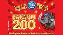 Ringling Bros. and Barnum and Bailey: Barnum 200 discount offer for show in Houston, TX (Reliant Stadium)