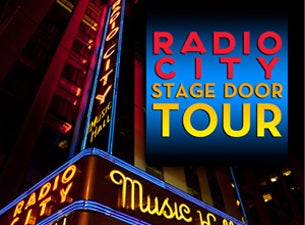 Stage Door Tour Tickets