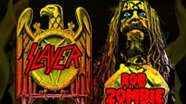 presale code for Slayer and Rob Zombie tickets in Seattle - WA (WaMu Theater)