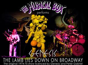"The Musical Box - ""A Genesis Extravaganza"""