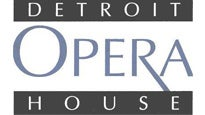 Detroit Opera House Tickets