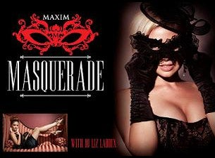 Maxim Masquerade Halloween Party Tickets