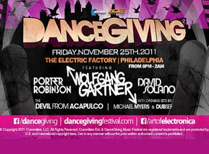 Dancegiving Music Festival Tickets