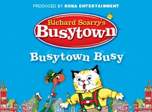 Richard Scarry's Busytown Live Tickets
