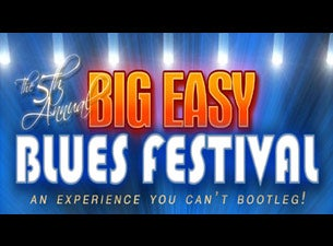 Big Easy Blues Festival Tickets