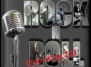 Rock & Roll & Doo Wop Concert Tickets