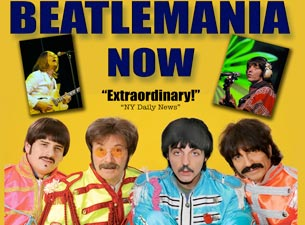 Beatlemania Now Tickets