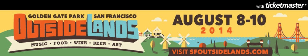 Outside Lands - San Francisco Tickets