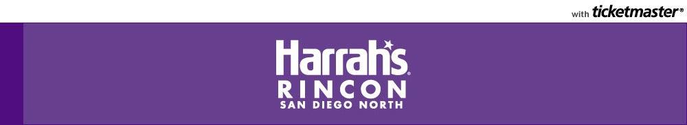 Harrah's Rincon San Diego Tickets
