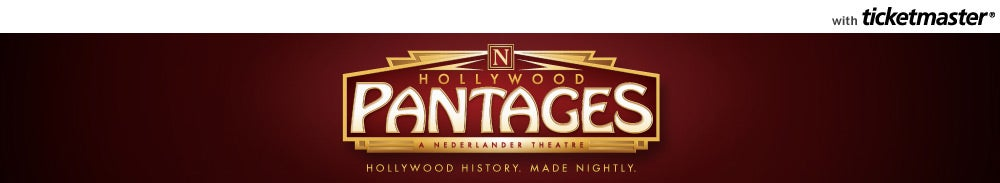 Pantages Theatre (Hollywood) Tickets