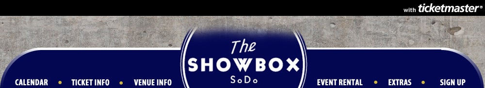 The Showbox SoDo Tickets