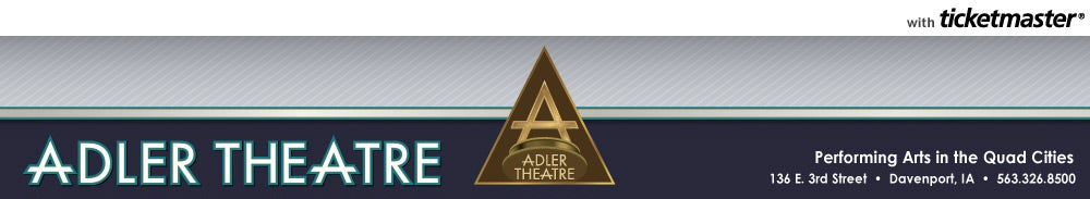 Adler Theatre Tickets