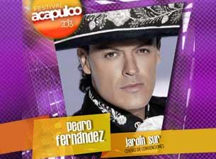 Pedro FernándezBoletos