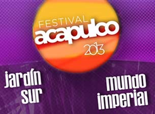 Festival Acapulco 2013Boletos