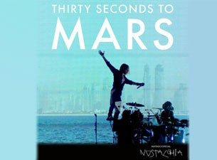 30 Seconds to Mars Boletos