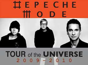 Depeche Mode Boletos