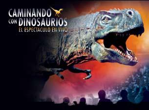 Caminando con Dinosaurios,  el espectáculo en vivoBoletos