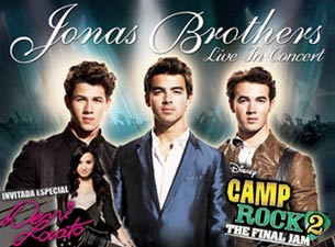 Jonas Brothers Boletos