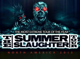 Summer Slaughter Tour Billets